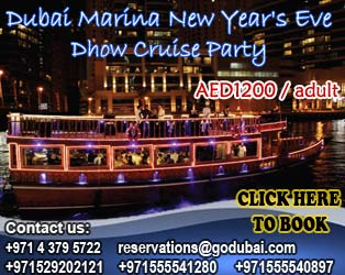 Special New Years Eve 2015 in Dubai Marina Cruise