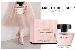 Angel Schlesser launches a new signature fragrance for women