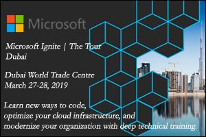 Microsoft Ignite The Tour FY 2019
