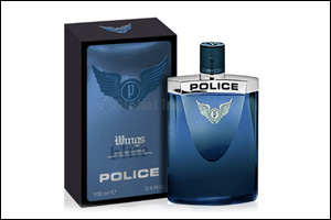 Police: Introducing the NEW Blue Wings Fragrance