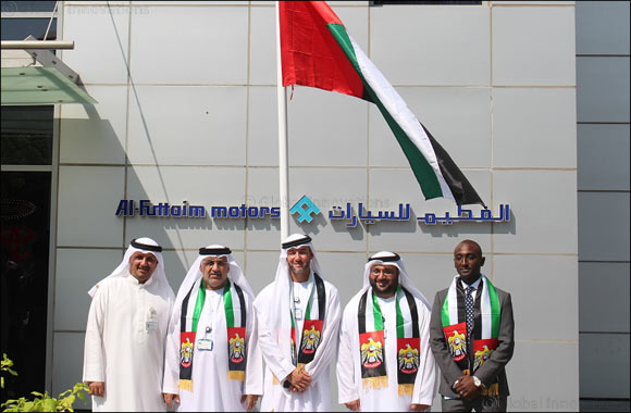 Al-Futtaim Motors celebrates the nation's ideals with raising of UAE flag : GoDubai.com