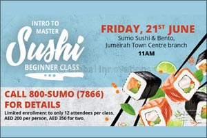 Sumo Sushi & Bento Offers a Fun Memory Over a Simple Gift, This Father's Day