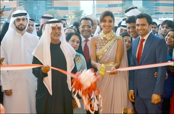 His Highness Sheikh Nahyan Bin Mubarak Al Nahyan And Bollywood Celebrity Shilpa Shetty