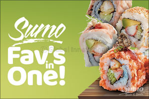 Sumo Sushi & Bento Introuduces Two New 'Favs in One' Sushi Rolls