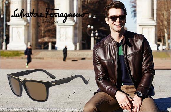 650ec38edef Ethan Peck spotted sporting Salvatore Ferragamo Eyewear   GoDubai.com