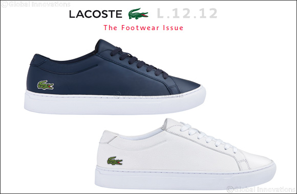 Best Deals Free Shipping New Lacoste L.12.12 Sneaker(Men's) -Black Textile With Mastercard Cheap Online Clearance Choice Free Shipping Perfect cGWzh