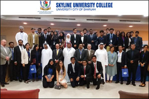 Business Plan and New Idea Competition - brings UAE and Oman students to Skyline University College
