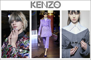 KENZO Women's Collection Fall-Winter 2016/17