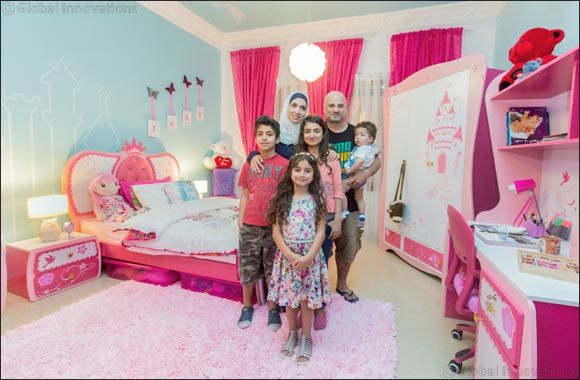 Home centre 39 s 4th room makeover contest infuses color and energy into lives of 15 winners across Home center furniture in dubai