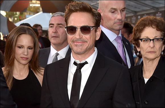 Actor Robert Downey Jr. walked the red carpet at the world premiere ... f1a2292a7f