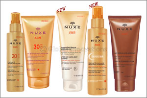protecting your hair from the sun has never been easier with nuxe...
