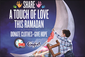 comfort and omo bring back annual ramadan clothes donation drive ...