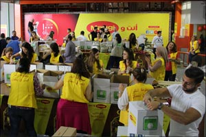 "MAGGI's ""1,000 Women for Good"" Initiative Provides 14,000 Families from across Middle East with food baskets for nourishing & healthy Suhoors & Iftars"