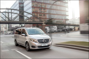 mercedes-benz launches v-class: a new concept in luxury passenger...