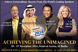 the national achievers congress set to inspire the middle east - ...