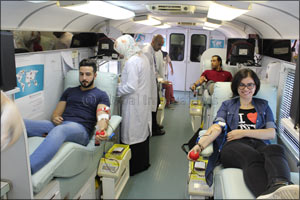 Skyline University College (SUC) Conducted a Blood Donation Camp
