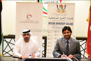 Skyline University College (SUC) Signed a MOU with Government of Umm Al Quwain Executive Council