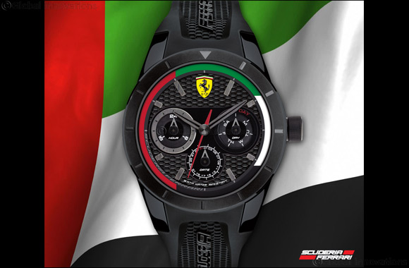 men watch s ebay watches chronograph black race heritage itm strap scuderia ferrari mens red