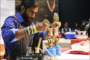 Stirring Stuff! UAE-Based Barista bags the 2nd MENA Cezve/Ibrik Championship at Speciality Food Festival