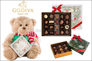 GODIVA Unveils New Collection in Celebration of the Festive Season