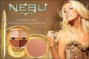 nebu milano, the haute couture makeup, launches new products at p...