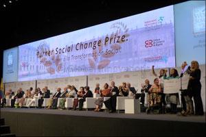 16 year old Winner of Turner Social Change Prize