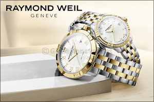 A Two-Beat Rhythm from RAYMOND WEIL The World's Most Beautiful Dance Sets The Tune of the Collection