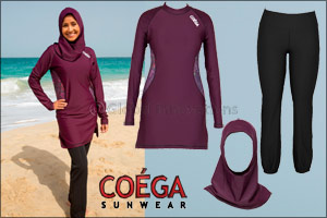 COÉGA Sunwear Launches New Spring/Summer '17 Conservative Swimwear Collection