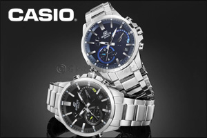 CASIO launches its latest range of analog watches that automatically connect to Internet time servers