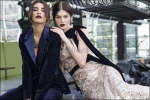 Cocktail and Bridal Couture by International Brand Label based in Dubai, Kara by award-winning designer, Kanchan  ...