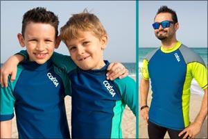 BOYS to MEN in COÉGA Sunwear