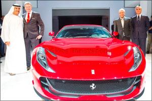 Ferrari 812 Superfast arrives in the UAE