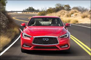 New INFINITI Q60 sports coupe: designed and engineered to perform