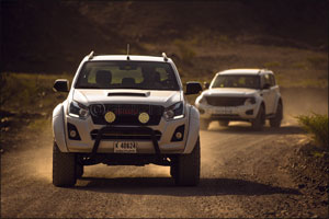 Arctic Trucks has introduced its very first modified Isuzu in the Middle East