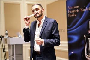 Maison Francis Kurkdjian Launches 'Oud Satin Mood Extrait de Parfum' at Paris Gallery