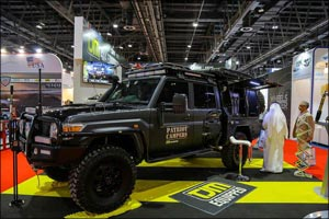 Custom Super Tourer and Innovative Spray-on Body Finish Drawing Attention at Automechanika Dubai