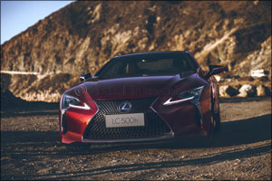 Lexus Unveils All-New LC luxury Coupe to Open a New Chapter in Brand History