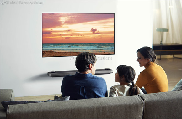 LG Signature OLED TV W marks its entry in the UAE with