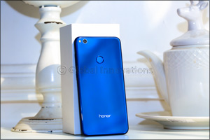 The sleek looking Honor 8 Lite launches a new blue colour in the Middle East