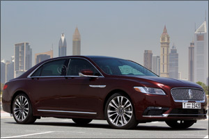 All-New 2017 Lincoln Continental Rides to Success in the UAE