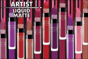 Make a Statement with MAKE UP FOR EVER's New Artist Liquid Matte Lipsticks