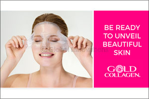 Gold Collagen� Hydrogel Mask with Second Skin Technology to Launch in Dubai in July 2017  From the Pioneers of Liquid  ...