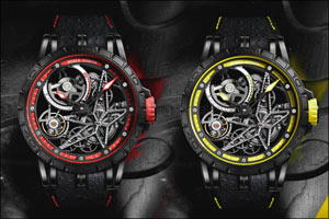 Excalibur Spider Pirelli range now available for fine watch enthusiasts at Dubai boutique