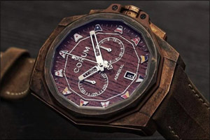 Corum Admiral AC-One 45 Chronograph, a distinguished customer in brown and bronze