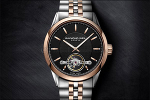 RAYMOND WEIL: Distinctive Freelancer 1212 Automatic for the elegant man