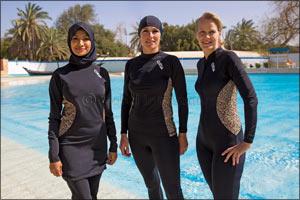 COÉGA Sunwear Launches Contemporary Autumn/Winter '17 Conservative Swimwear