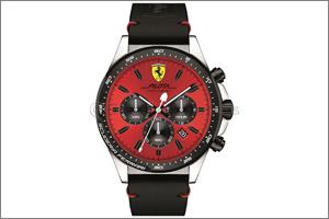 Hour Choice presents the all-new Scuderia Ferrari Pilota Collection