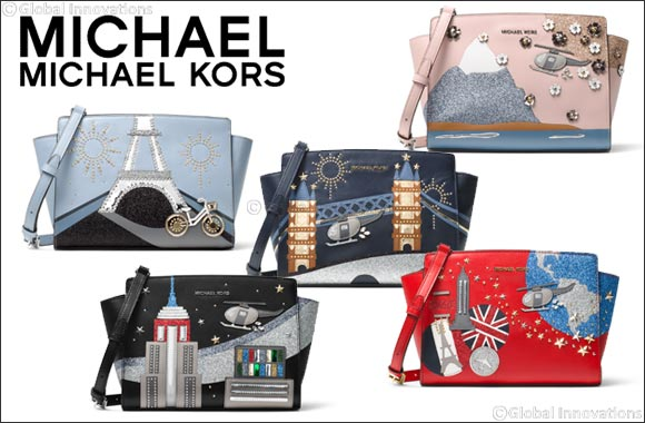 Dubai Uae September 19 2017 Just In Time For Fall Michael Kors Is Pleased To Introduce A Limited Edition Collection Of Handbags Inspired By The Global