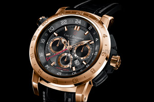 Carl F. Bucherer Patravi TravelTec II: Two Colors and Three Time Zones for Traveling in Style