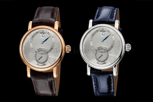 Understated elegance distinguishes the Sirius Regulator Jumping Hour from Chronoswiss